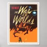 Guerra del cartel de película de los mundos poster