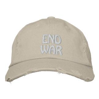 Guerra del final gorra de beisbol