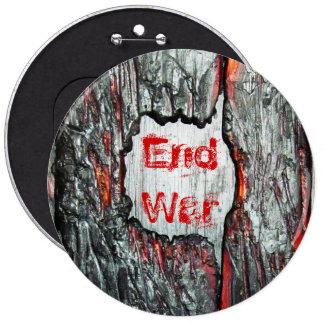 Guerra del final pin redondo de 6 pulgadas