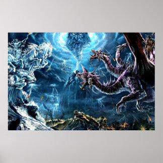 Guerra del poster de los Immortals