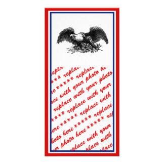 Guerra Eagle del vintage Tarjeta Fotografica