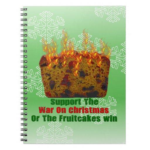Guerra en Fruitcakes Libretas