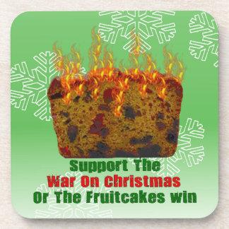 Guerra en Fruitcakes Posavasos De Bebida