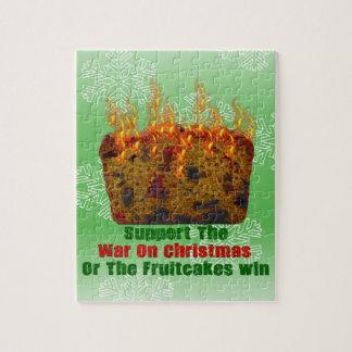 Guerra en Fruitcakes Puzzles