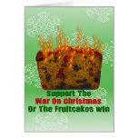 Guerra en Fruitcakes Tarjetón