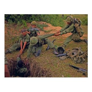 Guerra en funcionamiento de Oregon Vietnam del pel Postales