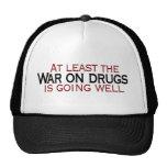 Guerra en las drogas gorro de camionero