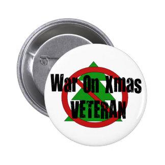Guerra en veterano de Navidad Pins