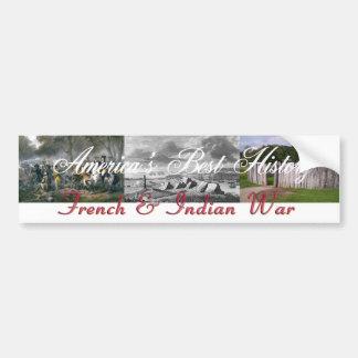 Guerra francesa y india de ABH Pegatina Para Auto