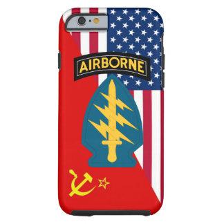 """Guerra fría especial de las """"boinas verdes"""" de las funda para iPhone 6 tough"""