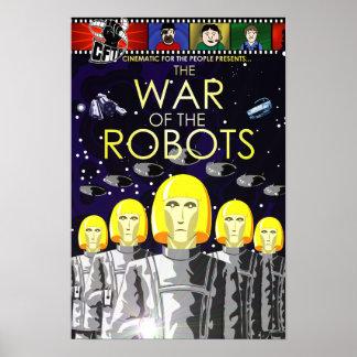 """""""Guerra Mini-Poster de los robots"""""""