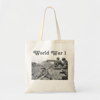 Guerra mundial 1 bolsas lienzo