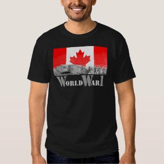 Guerra mundial 1 remera