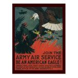 Guerra mundial de American Eagle 2 Postales