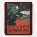 Guerra mundial de American Eagle 2 Alfombrillas De Raton