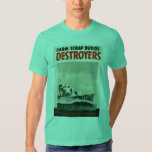 Guerra mundial de los destructores 3 playeras