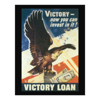 "Guerra mundial del préstamo de la victoria 2 folleto 8.5"" x 11"""