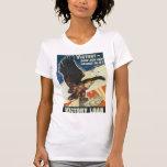 Guerra mundial del préstamo de la victoria 2 camiseta