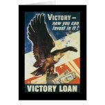 Guerra mundial del préstamo de la victoria 2 tarjetón