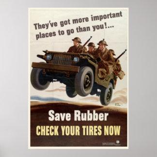 Guerra mundial del vintage 1 posters