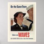 Guerra mundial del vintage 2 posters