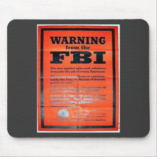 Guerra Ning del Fbi Alfombrilla De Ratones
