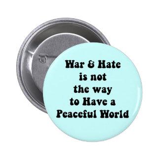 Guerra/odio contra el Pin de la paz