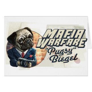 Guerra Pugsy Beigel de la mafia por los estudios d Felicitacion