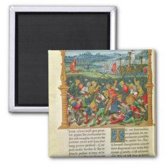 Guerra que emprende de rey Edward III en la batall Imán Cuadrado
