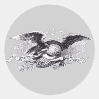 Guerra revolucionaria Eagle Pegatina Redonda
