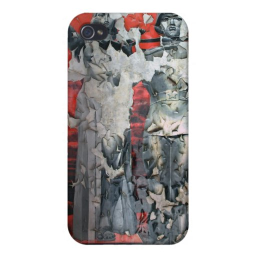 Guerra soviética iPhone 4/4S fundas