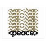 Guerra y paz postal