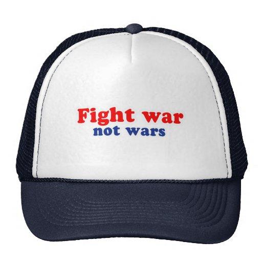 Guerras de la guerra de la lucha no gorro de camionero