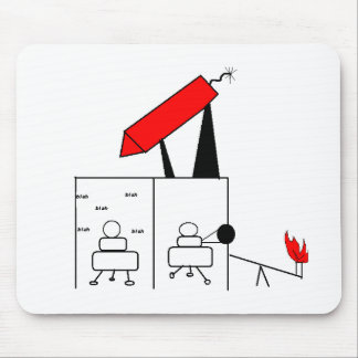 Guerras del cubo tapete de ratones