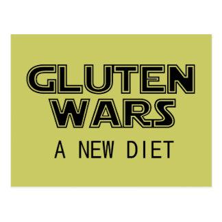 Guerras del gluten: Un gluten celiaco de la nueva Postal