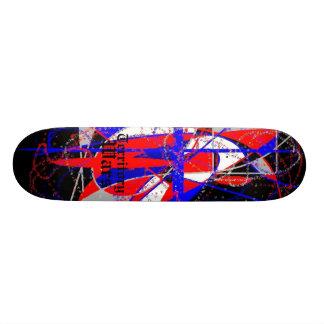 Guerras del territorio tabla de skate