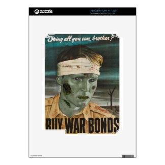 Guerras del zombi: ¡Compre enlaces de guerra! Skin Para El iPad 2