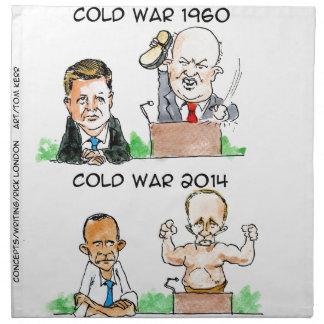 Guerras frías de 1960 y 2014 divertidos servilleta