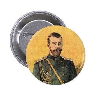 Guerre Russo-Japonaise vol. 01 - zar Nicholas 001 Pin Redondo 5 Cm