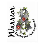 Guerrero 15 de la diabetes tarjetas postales