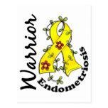 Guerrero 15 de la endometriosis tarjeta postal