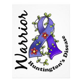 Guerrero 15 de la enfermedad de Huntington Flyer Personalizado
