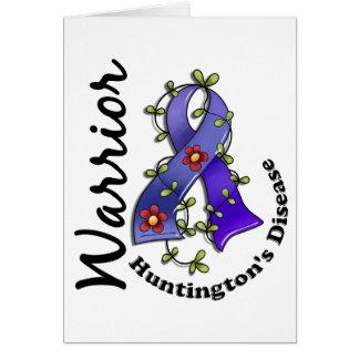 Guerrero 15 de la enfermedad de Huntington Tarjetas