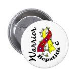 Guerrero 15 de la hepatitis C Pin Redondo 5 Cm