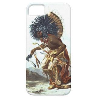Guerrero 1839 de Hidatsa iPhone 5 Case-Mate Cárcasas