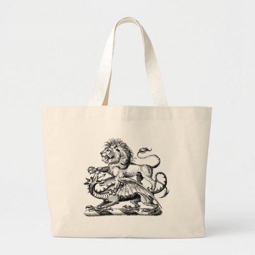 Guerrero 1 del dragón bolsa de mano