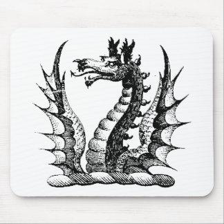 Guerrero 3 del dragón tapete de raton