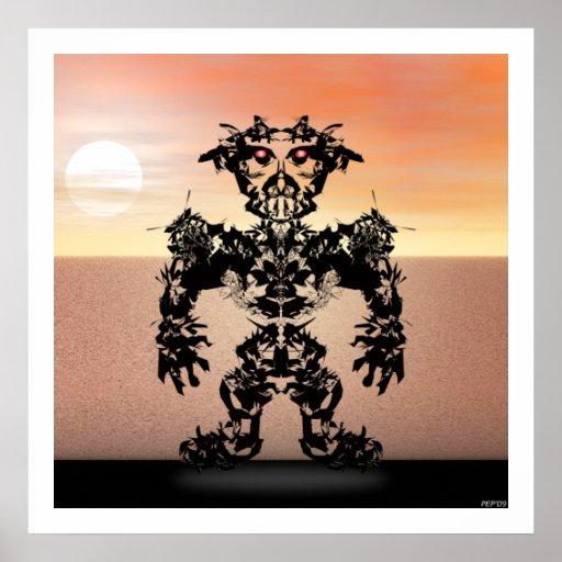 Guerrero #6 de Sun Posters