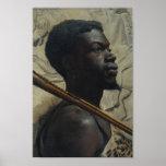 Guerrero africano de Walter Scott Boyd Impresiones