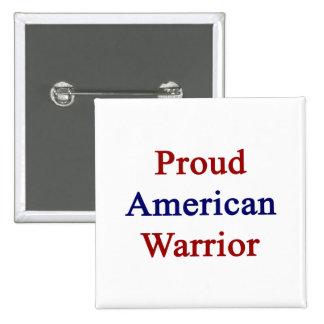 Guerrero americano orgulloso